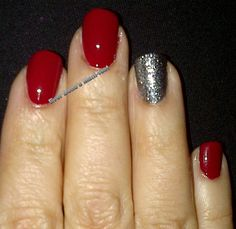 Ever Belle's Mani-fest: 31 Day Challenge - Day 1: red nails