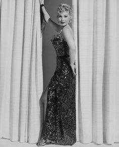 Zsa Zsa Gabor's Stunning Vintage Photos - Sexy in Sequins - from InStyle.com