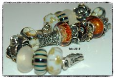 A touch of glitter with the beautiful caves One of the best beads - Golden Caves By Deborah Taylor