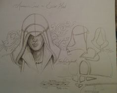 assassin's creed Ezio hood pattern? by TegwynDeForest