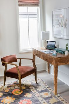Bedroom desk in 2020 Senebe Designer Showhouse Image: Jessica Ashley