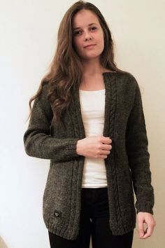 LÄMMIN ILO knitted woolcoat