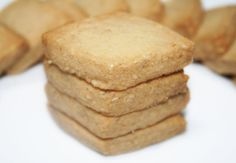 Cooking Bernard: The Shortbread Grilled Sesame Desserts With Biscuits, No Cook Desserts, Galletas Cookies, Biscuit Cookies, Shortbread, Cookie Bars, Scones, Cookie Recipes, Muffins