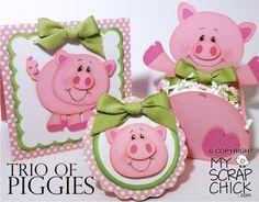 Trio of Piggies: click to enlarge