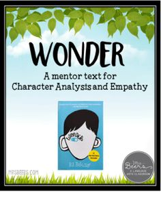 Growing Readers and Thinkers & Wonder Novel Unit Resource