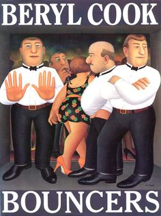 Bouncers by Beryl Cook - Orion Publishing Co - ISBN 10 0575056568 - ISBN 13 0575056568 - A collection of Beryl Cook's humorous paintings of… Beryl Cook, Plus Size Art, Comic Art Girls, Family Picnic, English Artists, Bouncers, Hens Night, Famous Artists, Girls Shopping