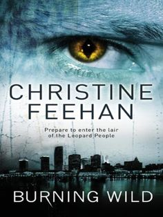 UK cover for Burning Wild by Christine Feehan