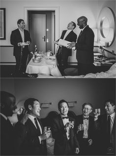 Fotoidee Bräutigam am Hochzeitstag- photo idea for getting ready with your groomsmen and best man! Destination wedding – internationale Gäste zur Traumhochzeit im Soho House und Hotel de Rome Berlin Foto: Matthias Friel Photography Soho House, On Your Wedding Day, Photos, Wedding Anniversary