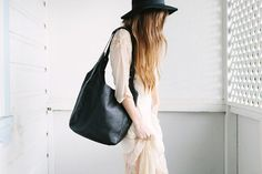 Status Anxiety Because The Nightbags Black find it and other fashion trends. Online shopping for Status Anxiety clothing. Made from luxuriously thick. Streetwear Brands, Streetwear Fashion, Beautiful Bags, Leather Bag, Spring Fashion, Fall Outfits, Cool Style, Street Wear