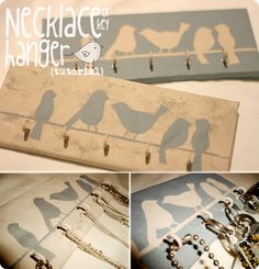 cute and useful! will use it for my necklaces, but it could be for keys too!