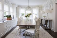 Possibly a buffet in dining area. Girard Avenue, MN | Martha O'Hara Interiors