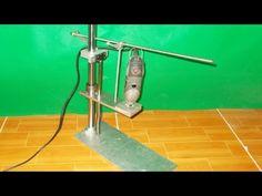 Hecho en casa Prensa Taladro mini Fresado Molino Router DIY husillo Slide Machine