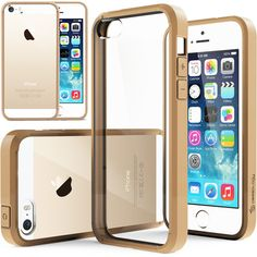 Caseology® iPhone 5S case [Fusion] [Beige]