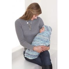 Mary Maxim - Crochet Snuggle Bag & Hat