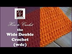 ... Lessons & Patterns on Pinterest How To Crochet, Double Crochet and