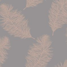 home wallpaper Fawning Feather Wallpaper Rose Gold / Grey Holden 12629 Gold Effect Wallpaper, Grey And Gold Wallpaper, Feather Wallpaper, Wallpaper Uk, Pattern Wallpaper, Living Room Wallpaper, Pink Wallpaper Bedroom, Grey Wallpaper Hallway, Wallpaper For Walls