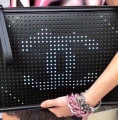 Chanel Data Center LED handbag #ChanelDataCenter