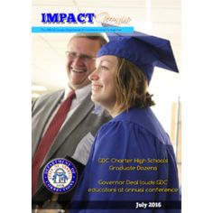 Check out the July edition of Impact Georgia Magazine! Offenders are graduating from GDC programs at a rate higher than ever seen before! We'll take you to those graduations and inside our programs that are helping create a safer Georgia. Be sure to click on the Georgia peach throughout the magazine to learn more about programs, places and events!