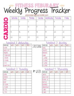 weekly | Pieces in Progress: Living fit, healthy, & happy!