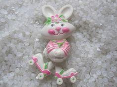 I loved my Avon bunny on roller skates perfume pin! Vintage 1974.