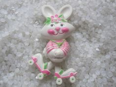 I loved my Avon bunny on roller skates  perfume pin!  Vintage 1974.