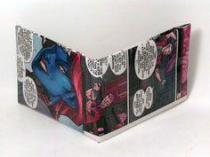 Comic Book Wallet// X-Men// Mystique and Quentin Quire, $4.00
