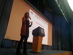 Public speaking at university....
