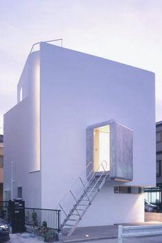 """Gangplank"" - House in Setagaya-ku,Tokyo, 2001, by Milligram Architectural Studio"