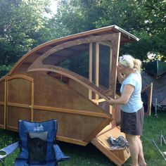 Built by David Rolfe and found at the Teardrop Trailer Lovers group on Facebook. https://www.facebook.com/groups/18969900744/