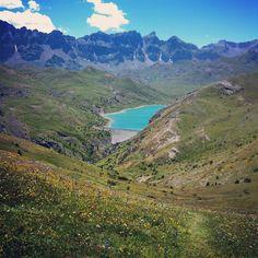 Col del Pacino, vue sur le Lac de Escarra