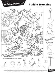 2016년 4월 숨은그림찾기 9페이지, 어린이 숨은그림찾기, Hidden Pictures : 네이버 블로그 Hidden Object Puzzles, Hidden Picture Puzzles, Hidden Objects, Dyslexia Activities, Church Activities, Colouring Pages, Coloring Pages For Kids, Coloring Books, Preschool Printables