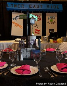 NYC Themed Centerpieces,Bat-Mitzvah, Bat-Mitzvah RI, by Gold Event Planner | Flickr - Photo Sharing!