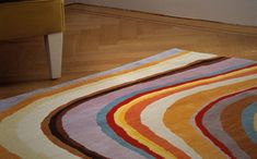revival of carpets .... here a design from PAUL SMITH