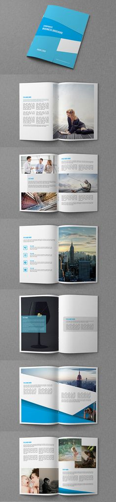 Business Brochure  Catalog Template Booklet Brochuredesign