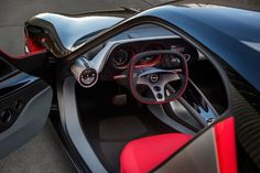 Opel GT Concept interior pictures have been released and they look stunning! Take a look at the buttonless interior!