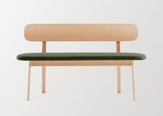"""Zones"" bench designed by PearsonLloyd for Teknion"