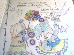 Girls Are Not Chicks Coloring Book by JacintaBunnell on Etsy, $10.00