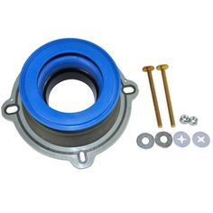 NEXT by Danco Perfect Seal Toilet Wax Ring with Bolts-10826X - The Home Depot Trench Drain Systems, Toilet Ring, Toilet Installation, Leaking Toilet, Ridge Vent, Wax Ring, Toilet Repair, Stainless Steel Bolts, Seal Design