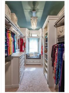 Small walk in closet ideas and organizer design to inspire you. diy walk in closet ideas, walk in closet dimensions, closet organization ideas. Home, Closet Design, House Styles, Closet Bedroom, Closet Space, European Style Homes, Gorgeous Closet, House, Luxury Homes