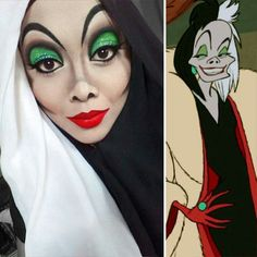 Using facial make-up to cosplay Disney characters is now an old fad. Malaysian artist Saraswati has created her version of Disney characters using her hijab collection. Check out Saraswati's creative costumes that she posted on her Instagram account @queenofluna.