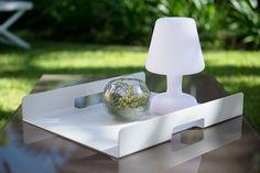 GARDENART SERVERINGSBRETT HVITT (Produktdetaljer) [Fine Design AS]