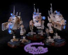 Imperial Guard Sentinels #guard #astramilitarum #40k #wh40k #warhammer40k #40000 #warhammer40000 #gamesworkshop #miniatures #wellofeterntiy #wargaming