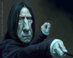 Severus Snape by Carlos Rubio
