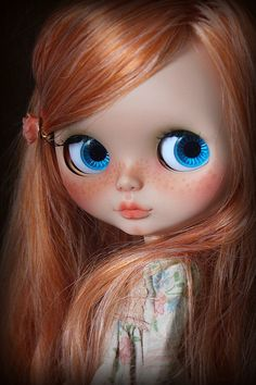 RESERVED Honey-Rose.  A ooak custom Blythe doll by by MiniMissFits