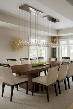 Contemporary Dining Room Chandelier Mesmerizing Formal Dining Room Lighting  House  Pinterest  Dining Room Design Inspiration