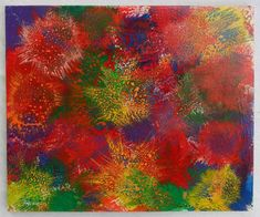 """G.A.Zanussi, """"Spread"""", Arte contemporanea quadro 50 x 60, opera su tela 2017"""