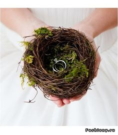 Bird Nest Ring Holder | Woodland Forest Outdoor Rustic Wedding