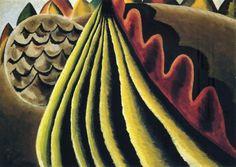 Arthur Dove: Fields Of Grain As Seen From Train