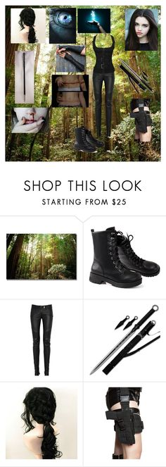 """""""Aria"""" by suicidal-melody ❤ liked on Polyvore featuring Trademark Fine Art, Balmain and ISAAC SELLAM EXPERIENCE"""