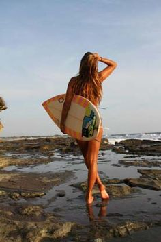 I can feel my feet in the water, brings back the feeling of surfing.... love those hot days on the beach xo
